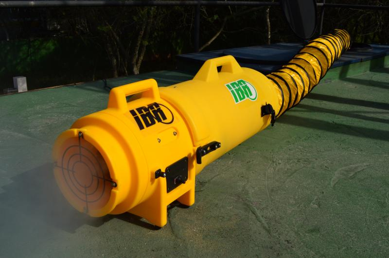 Exaustor nr 33 é equipamento básico que atende às normas trabalhistas